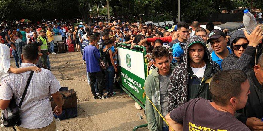 Venezuelalı vatandaşlar ekonomik krizden kaçıyor