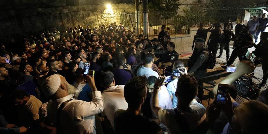 Filistinlilere 'Aksa'ya gidip nöbet tutun' çağrısı
