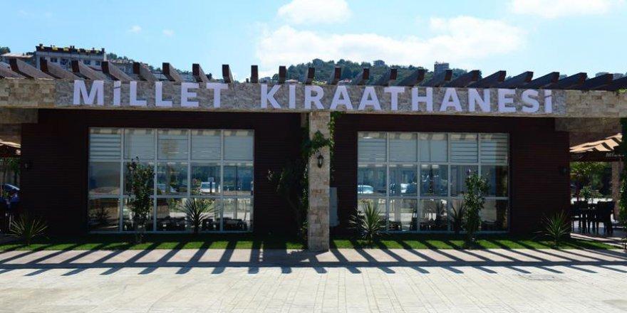 Giresun'da 'millet kıraathanesi' hizmete açıldı