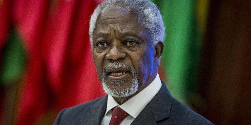 Türkiye'den Kofi Annan için mesaj