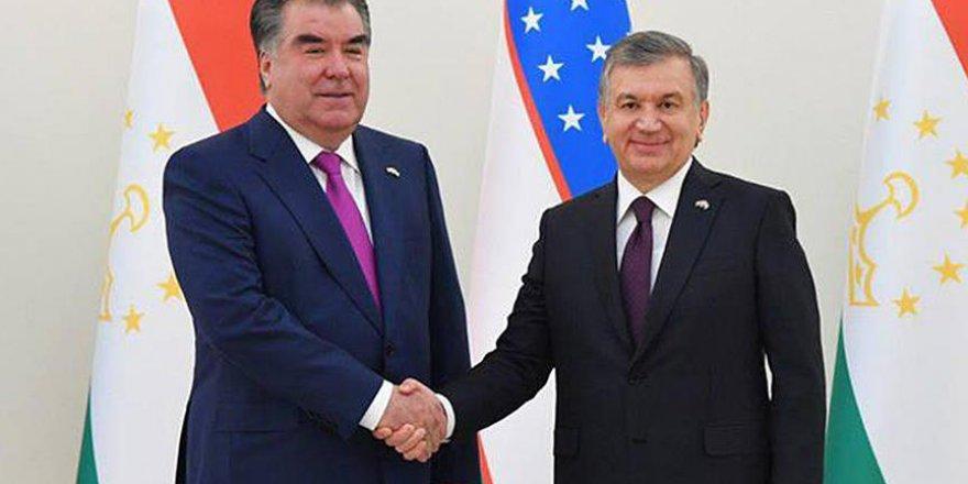 Tacikistan ve Özbekistan arasında sıcak ilişkiler