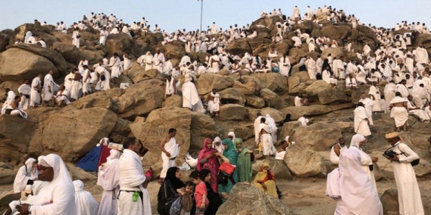 Mekke'deki hacı adayları Arafat'a çıkacak