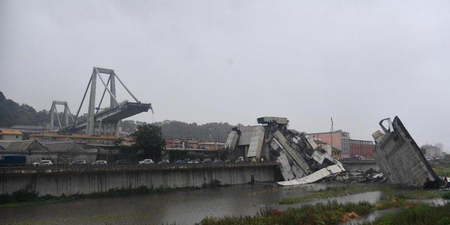 İtalya'da köprü çökmesi sonucu ölü sayısı 41 oldu