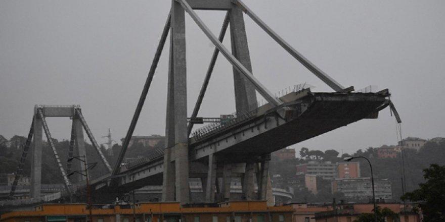 İtalya'da yıkılan köprü nedeniyle ölü sayısı 43 oldu