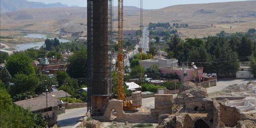 Hasankeyf'teki 609 yıllık Er-Rızk Camii de taşınıyor