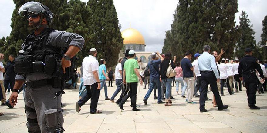 İşgalci İsrail'in Aksa ihlalleri yüzde 40 arttı