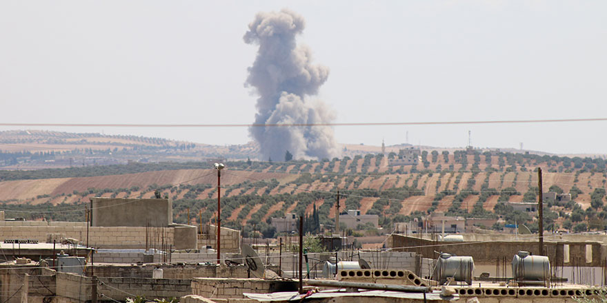 Esed rejimi İdlib'e saldırılarını sürdürüyor
