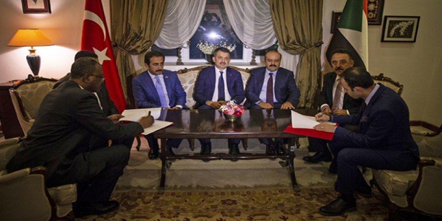 Pakdemirli: Türkiye ile Sudan arasındaki tarımsal ticaretin geliştirilmesi hedefleniyor