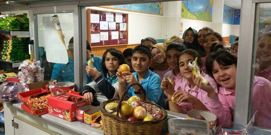 Okul kantinlerinde satılması yasaklanan ürünler