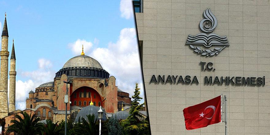 Anayasa Mahkemesi Ayasofya'nın ibadete açılmasını görüşecek
