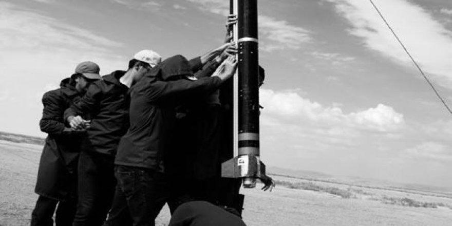 Tuz Gölü'nde 'roket yarışması'