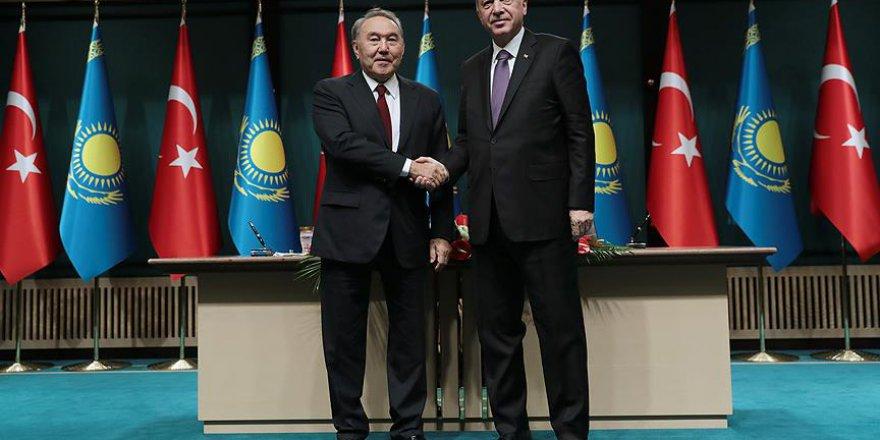 Türkiye ile Kazakistan arasında 5 anlaşma