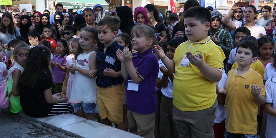 Okula yeni başlayan çocuklar için Amin Alayları' düzenlendi