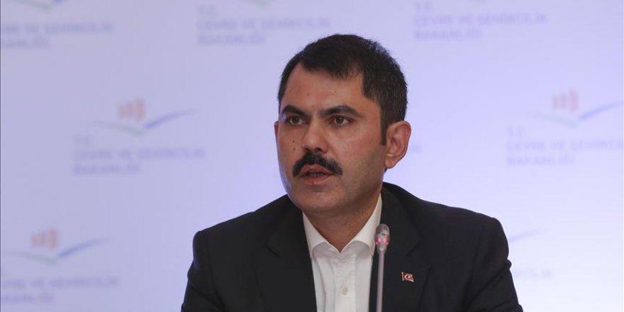 Çevre ve Şehircilik Bakanı çarpık kentleşmeye dikkat çekti