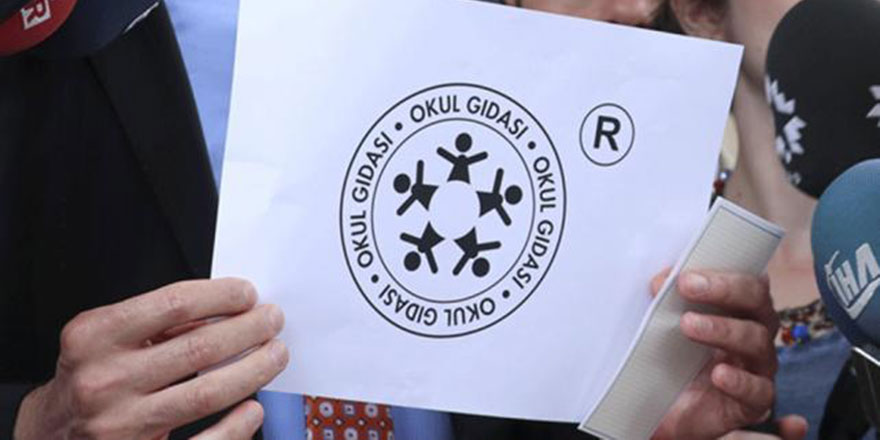 'Okul Gıdası' logosuna erteleme