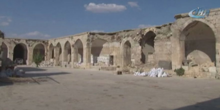 İdlib'teki savaş nedeniyle Osmanlı eseri de hasar gördü