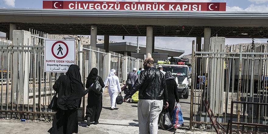 5 bin Suriyeli daha ülkesine döndü