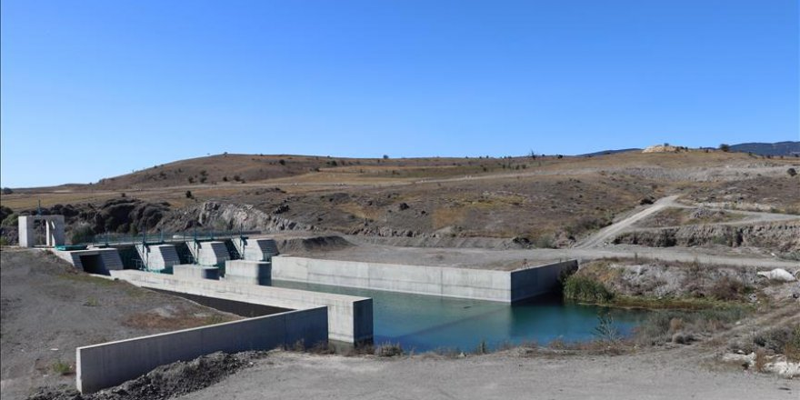 Tamamlandığında Ankara'nın suyu kaynak suyu kalitesinde olacak