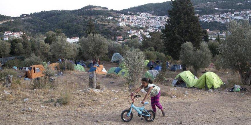 Yunan adalarındaki sığınmacı çocuk sayısında yüzde 32'lik artış
