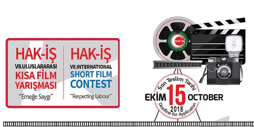 Hak-İş'in yarışmasına son başvuru 15 Ekim'de