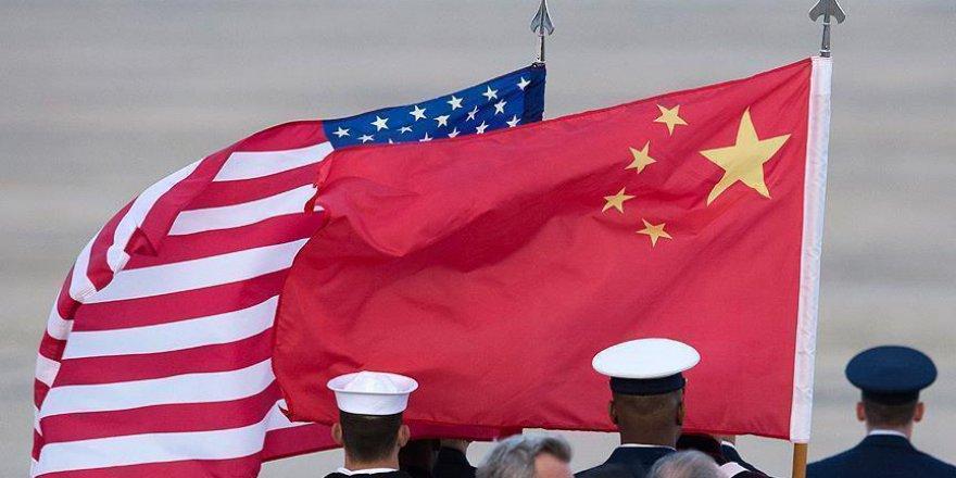 Çin, askeri yaptırımlar için ABD'ye veryansın etti