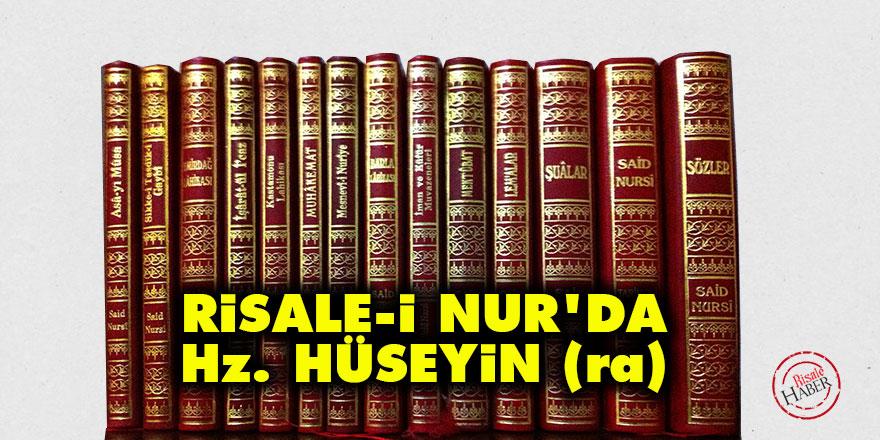 Risale-i Nur'da Hz. Hüseyin (r.a)