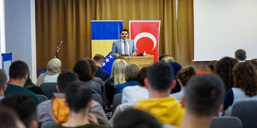 'Bosna Hersek'teki potansiyeli gönüllerin ötesine taşımalıyız'