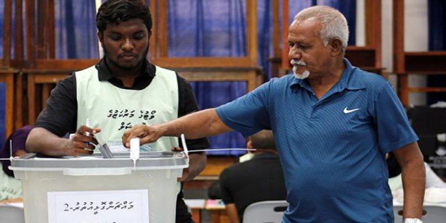 Maldivler'de seçim zamanı