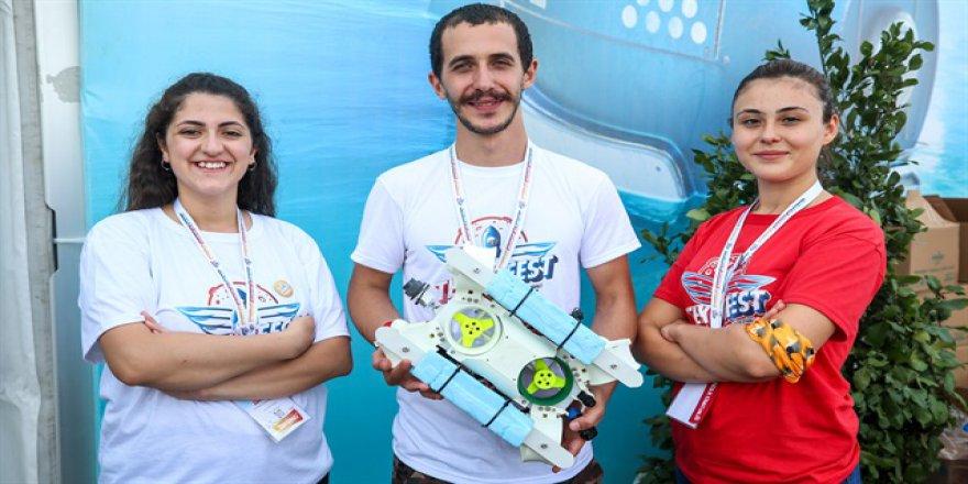 Üniversiteliler yerli 'su altı drone' üretti