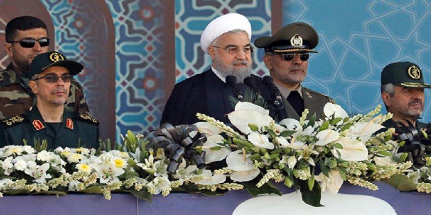Ruhani'den ilginç Trump iddiası: 'Sonu Saddam gibi olacak'