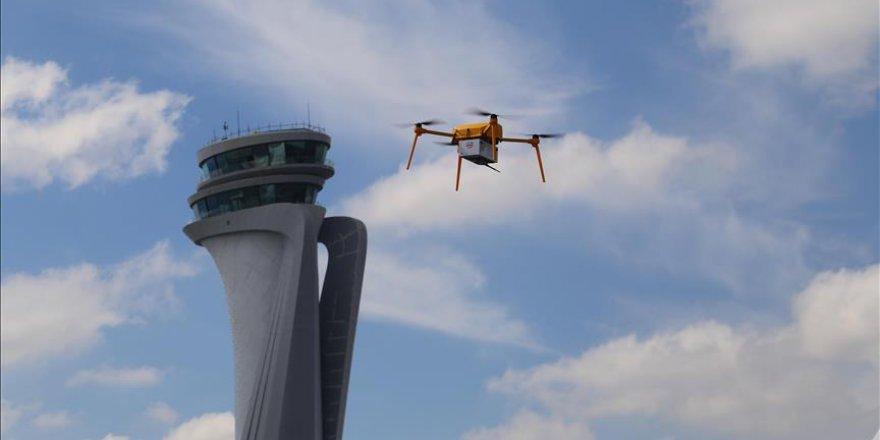 PTT, TEKNOFEST'te drone ile şov yaptı