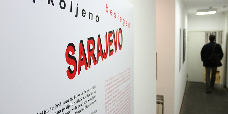 Sırbistan'da 'Kuşatılmış Saraybosna' sergisi