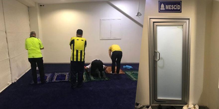 Fenerbahçe Stadı'na 4 mescit yapıldı
