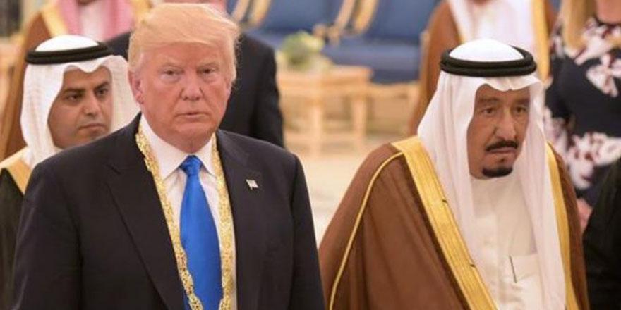Trump Suudilere teşekkür etti