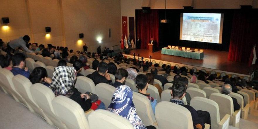 Bitlis'te sempozyum: İdrisi Bitlisi, Said Nursi, Fuad Sezgin