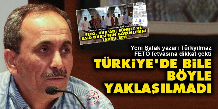 FETÖ fetvasının yankıları sürüyor: Türkiye'de bile böyle yaklaşılmadı
