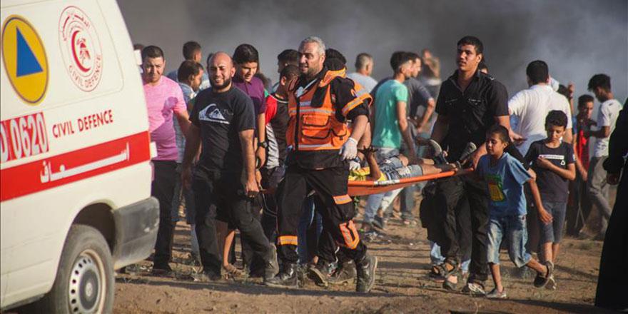 İşgalci İsrail 28 Filistinliyi yaraladı