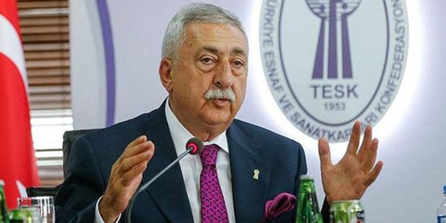 TESK Başkanı Palandöken: 'Dolar düştü, indirimler yapılsın'