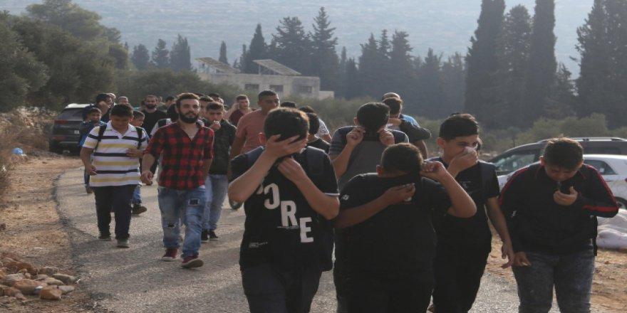 Filistin'de 120 öğrenci yaralandı