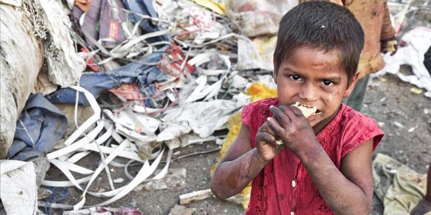 Yemen'de 2,2 milyon çocuk yetersiz beslenme sorunu yaşıyor