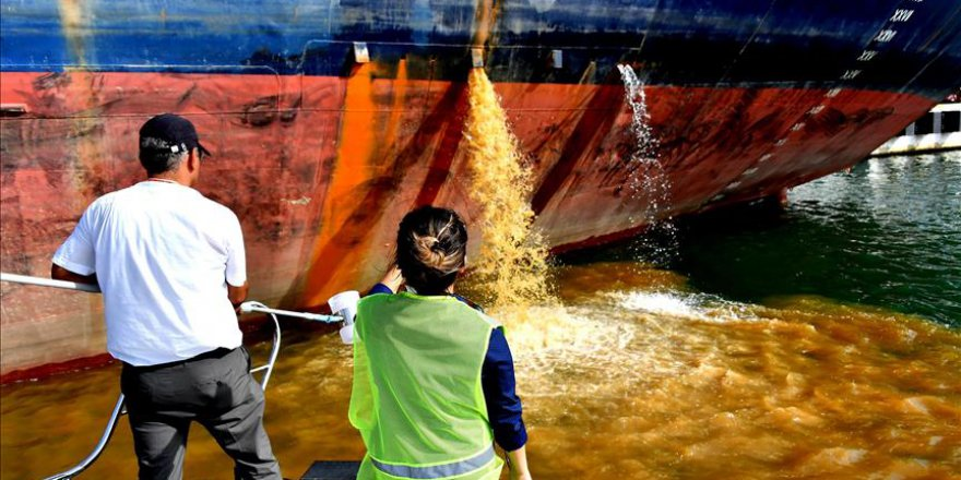 Akdeniz'i kirleten gemilere milyonlarca lira ceza verildi