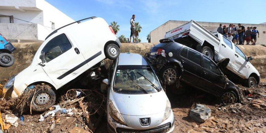 Tunus'taki sel felaketinde ölü sayısı 6'ya yükseldi