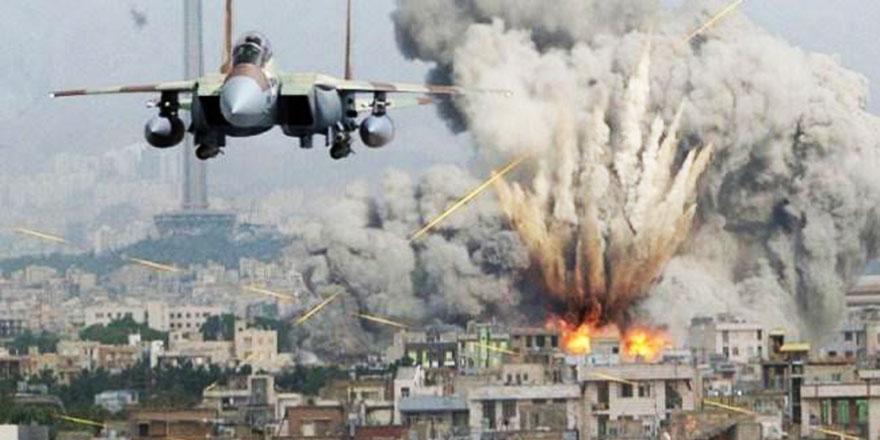 ABD ve ortakları Suriye'de Cuma namazı anında camiyi bombaladı