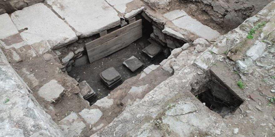 İznik'te ecdad yadigarı hamam bulundu