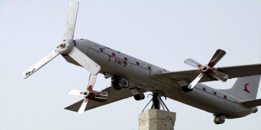 Çankırı'nın köyünde uçak tutkusu