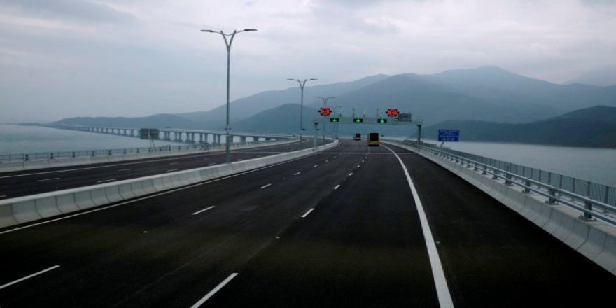 Çin'in yeni köprüsü dünyanın en büyüğü