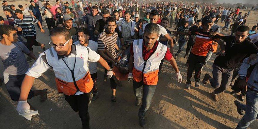 İşgalci İsrail gencecik Filistinliyi şehit etti