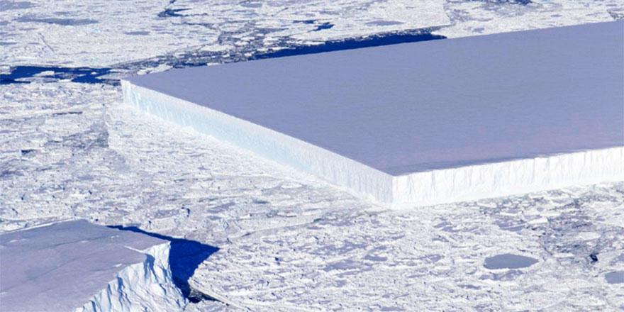 NASA soruyor: Buzdağını bu hale kim getirdi?