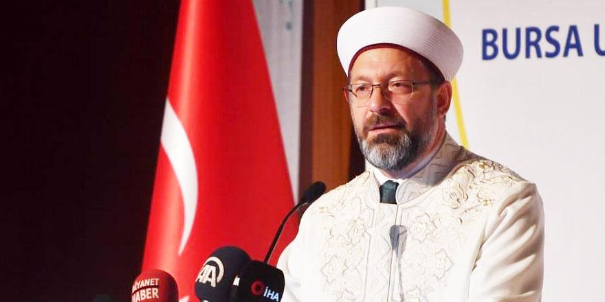 Ali Erbaş: 'Dinimizi doğru bir şekilde insanlara aktarmamız gerekiyor'