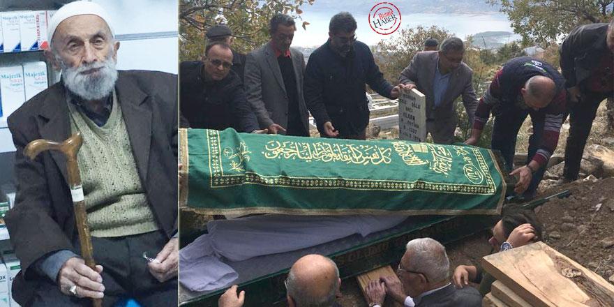 Zübeyir Gündüzalp'in kardeşi Haydar Gündüzalp dualarla ebedi aleme uğurlandı